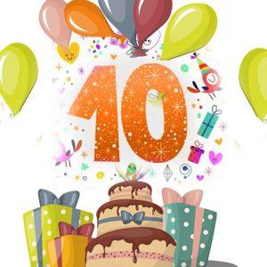 Друзі, нашій клініці виповнюється десять років!!!